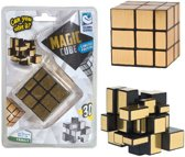 Clown Magic Puzzle Cube Gold