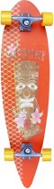Longboard Pintail 36 Tropical Funk - Oranje