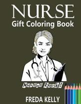 Nurse Gift Coloring Book