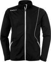 Kempa Curve Classic  Trainingsjas - Maat S  - Mannen - zwart/wit