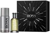 Hugo Boss Bottled Giftset - 50 ml eau de toilette spray + 150 ml deodorant spray - cadeauset voor heren