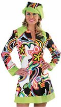 Hippie/Sixties jurk dames 42 (xl)