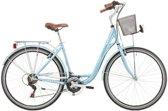 Excel Central Park - Fiets - Vrouwen - Licht Blauw - 48 cm