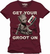 GUARDIANS OF THE GALAXY - T-Shirt Get Your Groot On (XL)