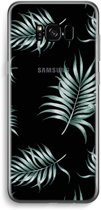 Samsung Galaxy S8 Plus Transparant Hoesje (Soft) - Simple leaves