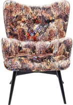 Kare fauteuil Vicky Tropical Safari