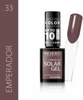 REVERS® 3in1 Solar Gel Nagellak 12ml. - #33 Emperador
