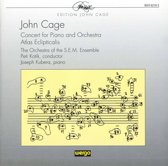 Cage: Concert for Piano and Orchestra, etc / Kotik, Kubera, et al