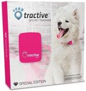 Tractive GPS Tracker Systeem Voor Honden - Pink Edition