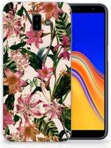Samsung Galaxy J6 Plus (2018) Uniek TPU Hoesje Flowers