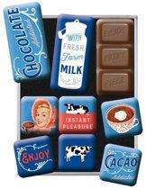 Magneet Set Chocolate Addicted