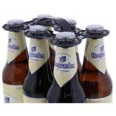 Draagtray, PP, 6 flessen, zwart