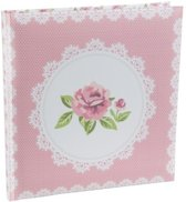Santex Gastenboek pink rose - OP = OP
