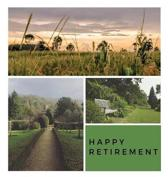 Happy Retirement Guest Book (Hardcover)