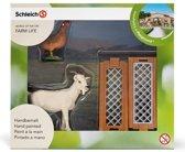 Schleich Scenery pack Kleine boerderijdieren met omheining - Exclusieve set