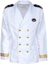 Kapitein & Matroos & Zeeman Kostuum | Jas Kapitein Passagiersschip Luxe Cruise Man | Small | Carnaval kostuum | Verkleedkleding