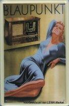 Blaupunkt reclame Radio reclamebord 20x30 cm
