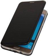 Samsung Galaxy J5 2016 Hoesje Slim Folio Case Zwart