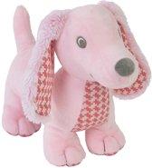 Happy Horse Teckel Dex Roze 25cm - Knuffel