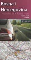 Wegenkaart - landkaart Bosnie / Herzegovina