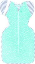 Love to dream - Swaddle UP inbakerslaapzak 50/50 LITE large aqua