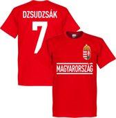 Hongarije Dzdudzsak 7 Team T-Shirt - L