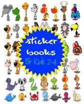Sticker Books for Kids 2-4
