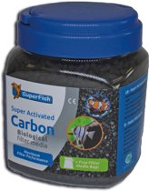 SuperFish Super Activated kool / Carbon - Aquarium - Filtermedia - 1000 ml