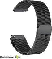 Milanees bandje zwart geschikt voor Fitbit Versa
