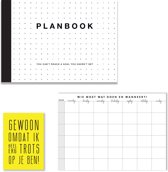 Black Friday 20%: Planboek A4 + Familieplanner A4 + kaart!