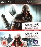 Ubisoft Assassin's Creed Revelations + Brotherhood, PS3