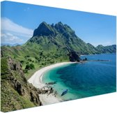FotoCadeau.nl - Uitzicht over Padar eiland Canvas 120x80 cm - Foto print op Canvas schilderij (Wanddecoratie)