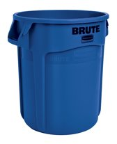 Ronde Brute container 75,7 ltr - Rubbermaid - Blauw