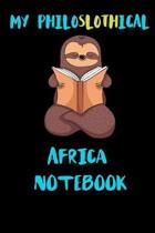 My Philoslothical Africa Notebook