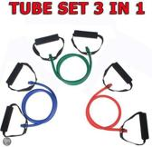 Focus Fitness - Resistance Tube - SET 3 in 1