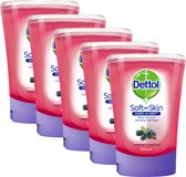 Dettol No-Touch Handzeep Navulling Winterbessen - 5 x 250 ml – Grootverpakking