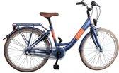 Bike Fun Blizz - Kinderfiets - Meisjes - Matblauw - 43 cm