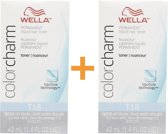 DUO PACK WELLA T18 COLOR CHARM LIQUID HAIR TONER