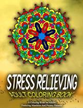 Stress Relieving Adult Coloring Book - Vol.5
