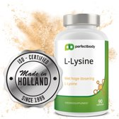L-Lysine 1000 Mg - 90 Tabletten | Essentieel Aminozuur | Verhoogt Weerstand