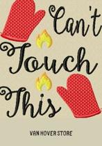 Can't Touch This: Blank Recipe Journal to Write in, recipe box, empty recipe Food Cookbook Design, 100-Pages recipe cards 7'' x 10'' Colle