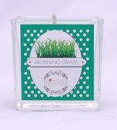 Geurkaars Morning grass Medium (100ml)
