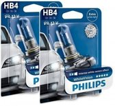 Philips WhiteVision set 3700k - HB4 - (2 losse blisters)