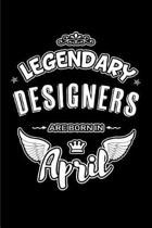 Legendary Designers Are Born in April