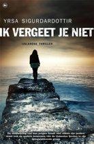Boekomslag van 'Ik vergeet je niet'