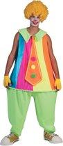 Bolle clown kostuum voor volwassenen - Verkleedkleding