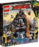 LEGO NINJAGO Movie Garmadon's Vulkaanbasis - 70631