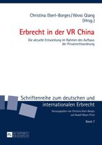Erbrecht in der VR China