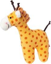 sigikid Mini rammelaar giraffe Red Stars 41170