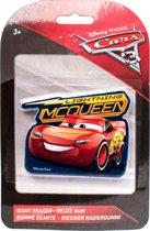 Slammer Disney Cars 3 Reuze Gum Mcqueen 10 X 6 Cm Rood
